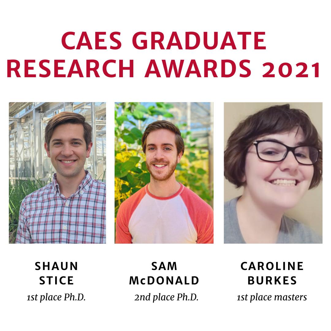Graduate Student Awards 2021