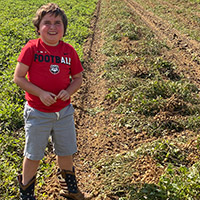 Young farmer honored in Early County