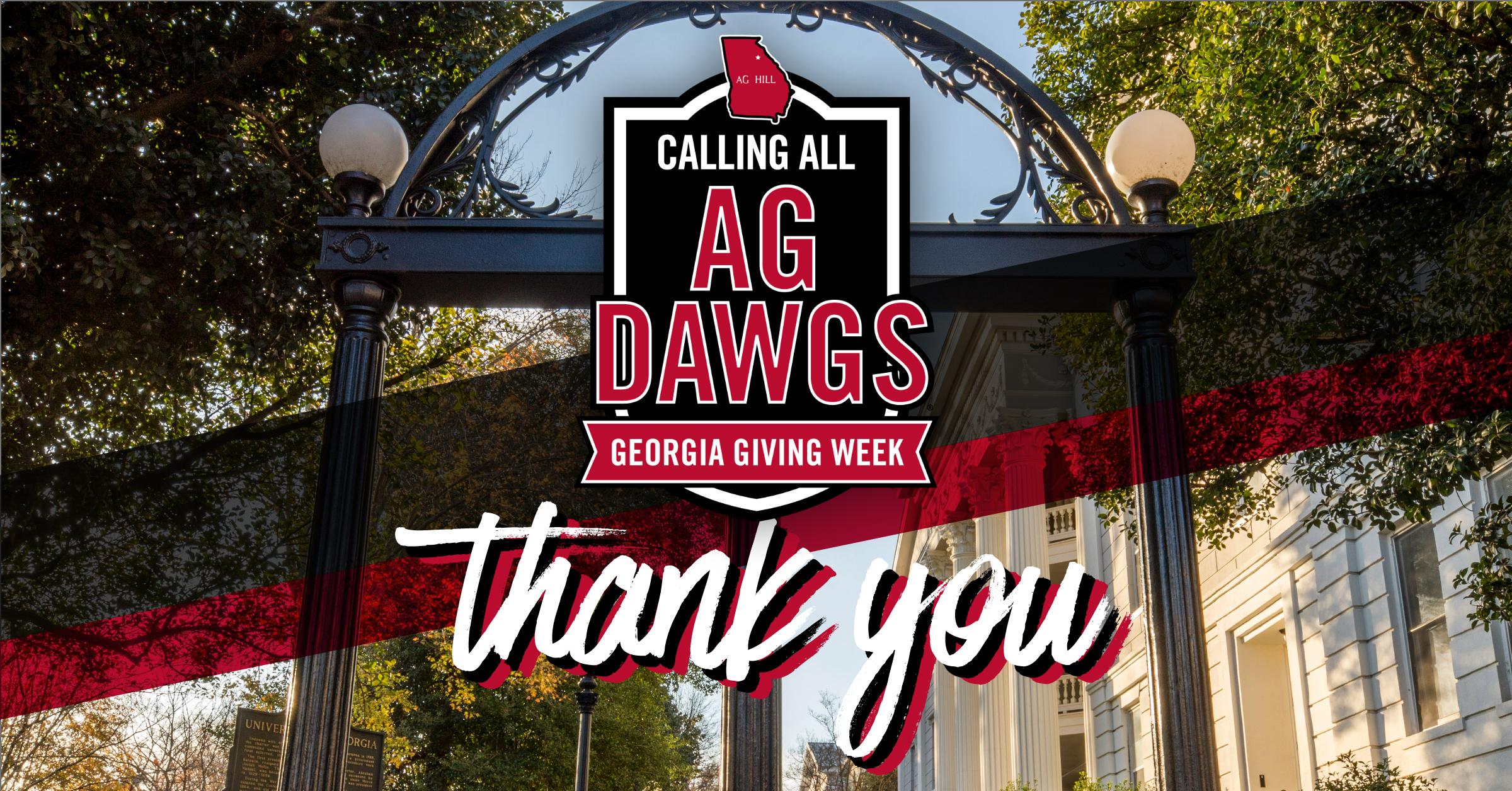 从阿拉斯加到怀俄明州,数百名心怀感激的校友、朋友、学生和父母在2021年4月17日至23日的乔治亚捐赠周期间捐赠了支持CAES的礼物。