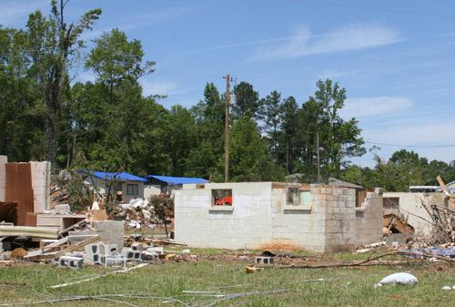 Spalding County tornado 2011