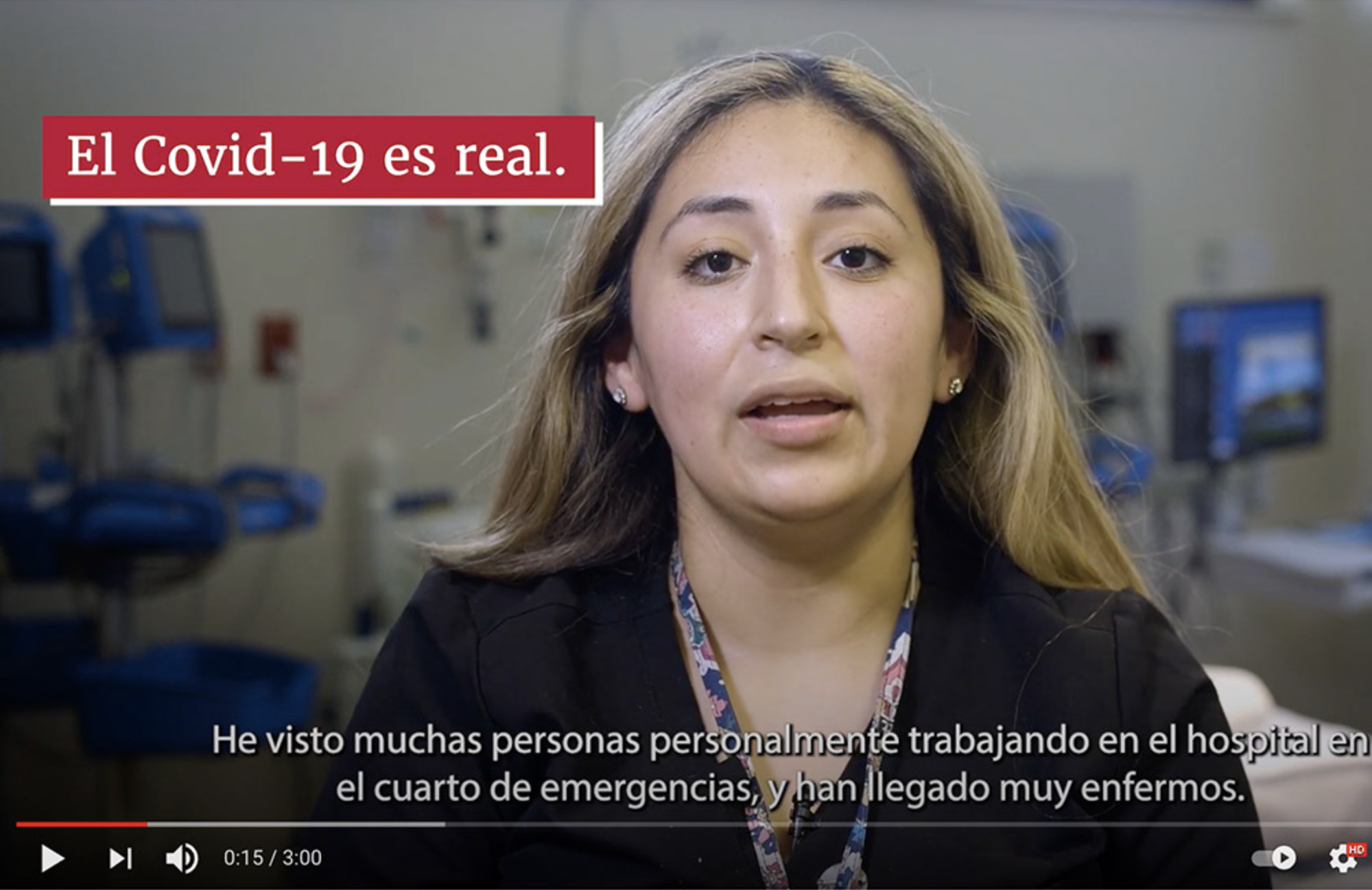 The first phase of the EXCITE initiative is to create a communications campaign using testimonial videos. In the videos, provided in both Spanish and English, community members offer firsthand accounts of why they got the vaccine to encourage others to get vaccinated.