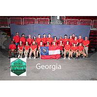 Champion teams in Sporter Air Rifle, 22 Rifle, Compound Archery, Recurve Archery and Shotgun represented Georgia 4-H at the National 4-H Shooting Sports Championships in Grand Island, Nebraska