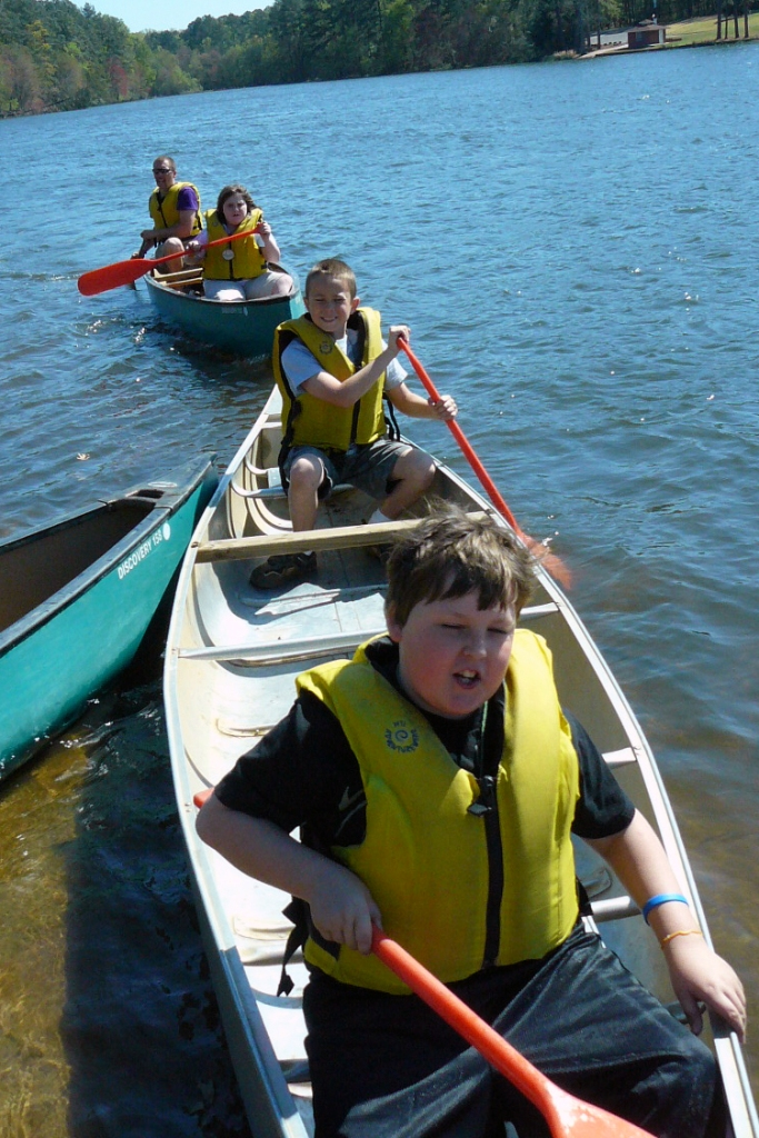 A Saturday program at Rock Eagle 4-H Center in Eatonton, Ga., will combine canoeing with wildlife watching.