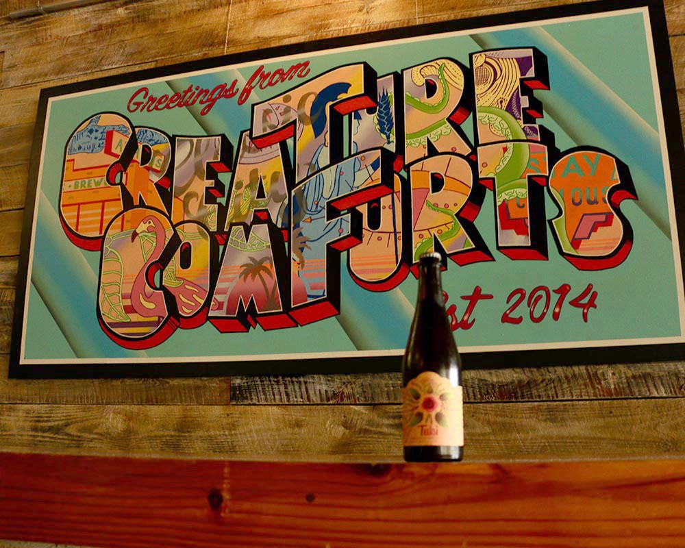 Athens brewery Creature Comforts creates a saison beer that contains tulsi, also known as holy basil, a Southeast Asian herb grown at student-run farm UGArden.