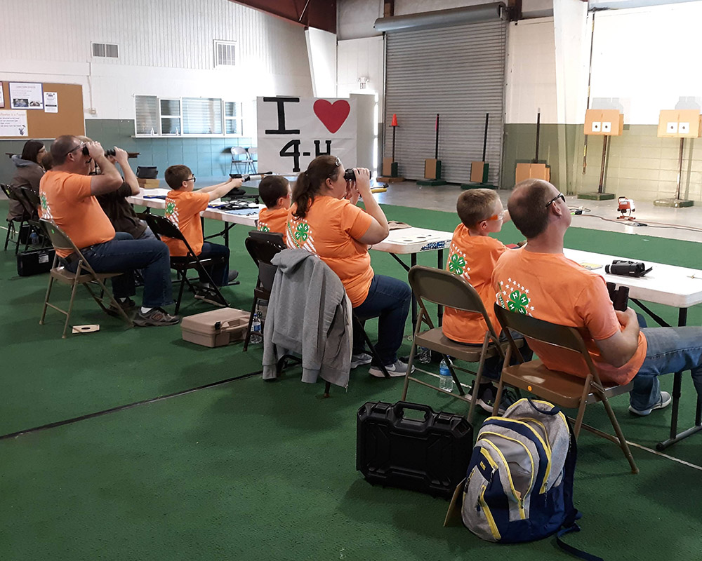 Unlike Georgia 4-H Project SAFE Shooting Sports disciplines 22 Rimfire, Air Rifle and Shotgun, air pistol is offered to Cloverleaf 4-H'ers beginning in fourth grade.