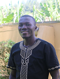 Henry Ssendagire, a master's student at Makerere University in Uganda, is working on a project with the Feed the Future Innovation Lab for Peanut at UGA to find the alternative hosts for a devastating peanut disease, Groundnut Rosette Virus.