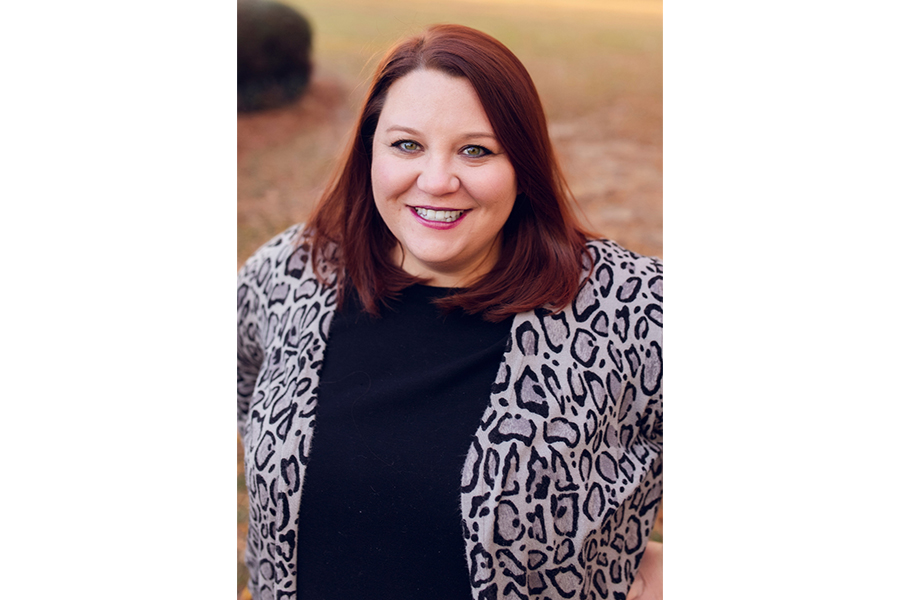 Sarah Cook, who earned her master's degree in Agricultural Leadership in 2014, is serving as president of the CAES Alumni Association for the 2021-22 term.