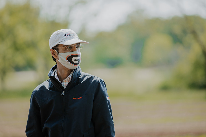 """""""To my knowledge, this is the all-time highest funding amount the UGA IPM program has received, which is incredible because this is a highly competitive national grant,"""" said Ash Sial, coordinator of UGA's integrated pest management program."""