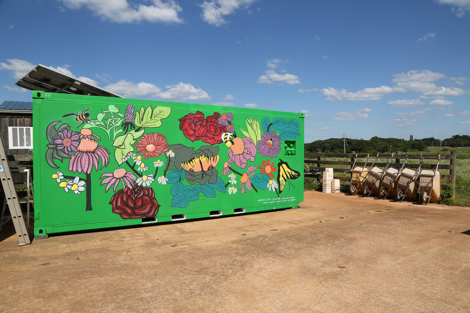 UGArden Containers become works of art