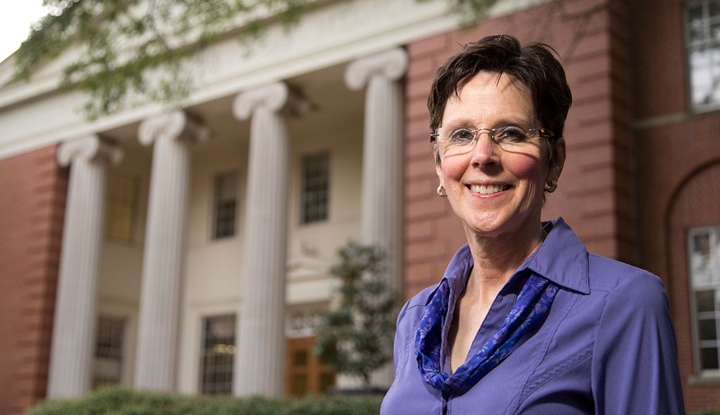 College of Veterinary Medicine faculty member Corrie Brown will administer a new U.S Department of Agriculture Foreign Agricultural Service grant that will allow UGA to host and train visiting veterinary and agricultural educators from Africa. (Photo by Andrew Davis Tucker)