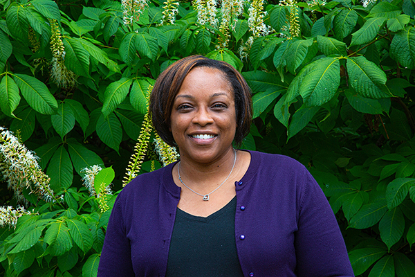 Lakecia Pettway serves as both a resource and a mentor for students as the director of the Office of Diversity Affairs at CAES.