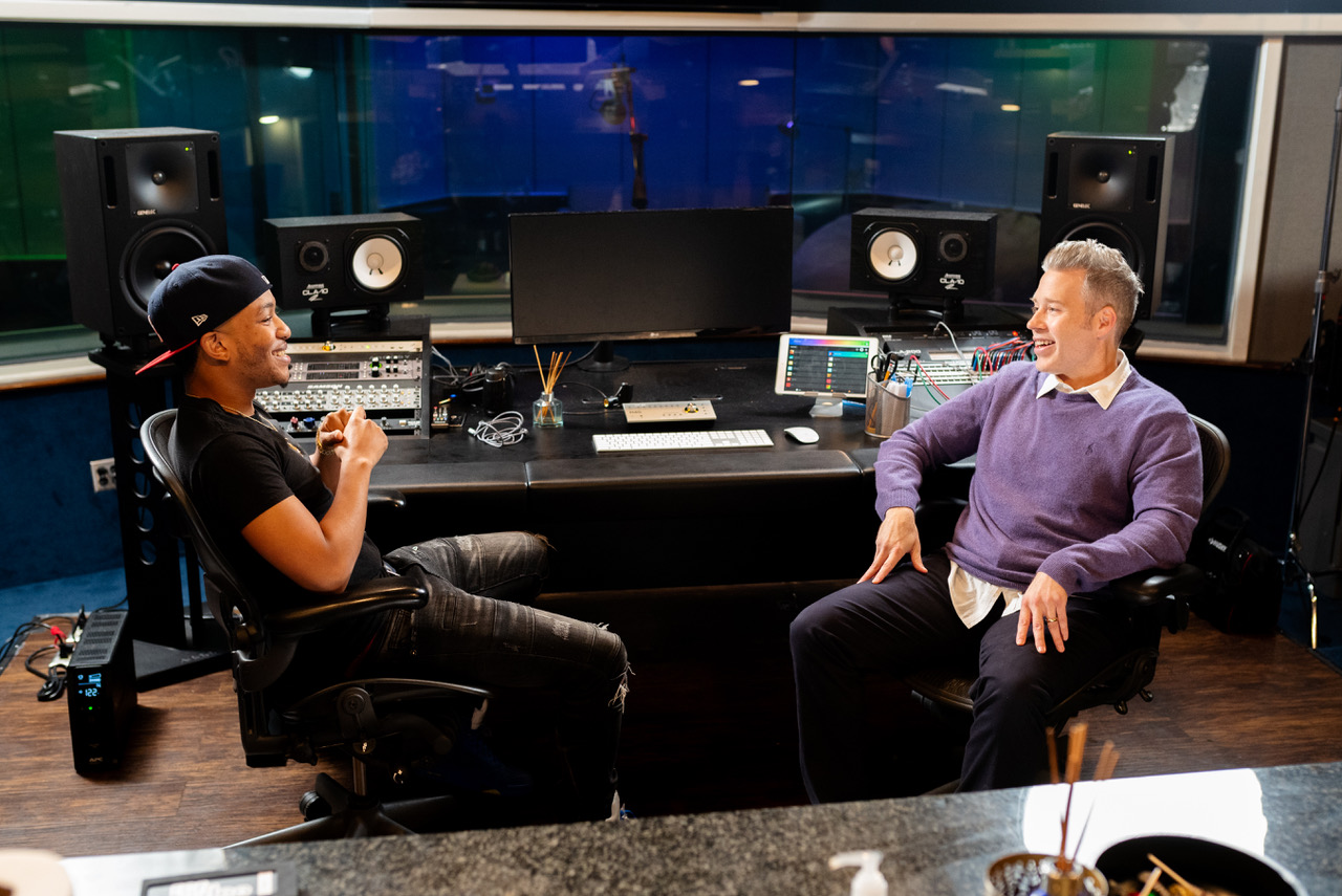Tamlin and Mr. 2 17 at Doppler Studios in Atlanta GA