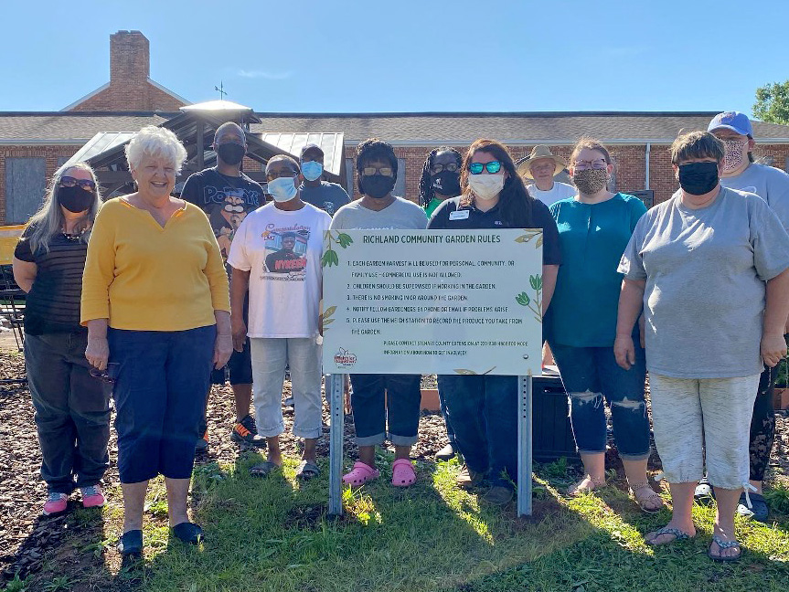 Healthier Together hosted a community-wide planting day at Richland Community Garden in Richland, Georgia, southeast of Columbus.