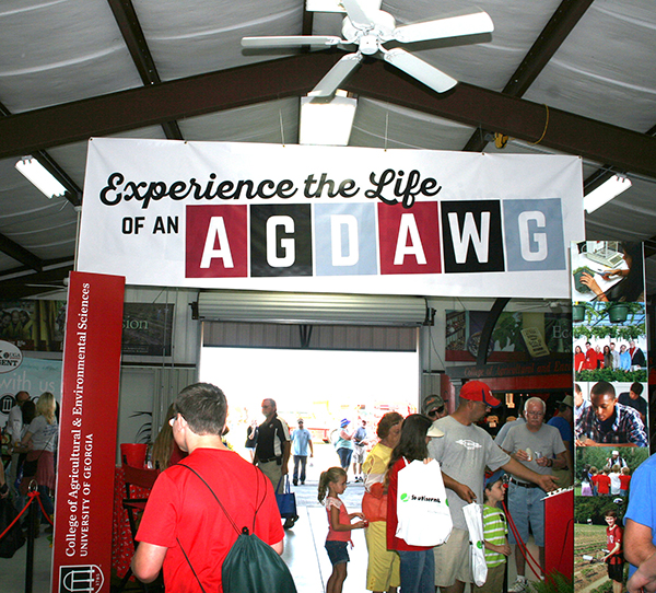 Community members can learn more about the opportunites and services provided by UGA's College of Agricultural and Environmental Sciences.