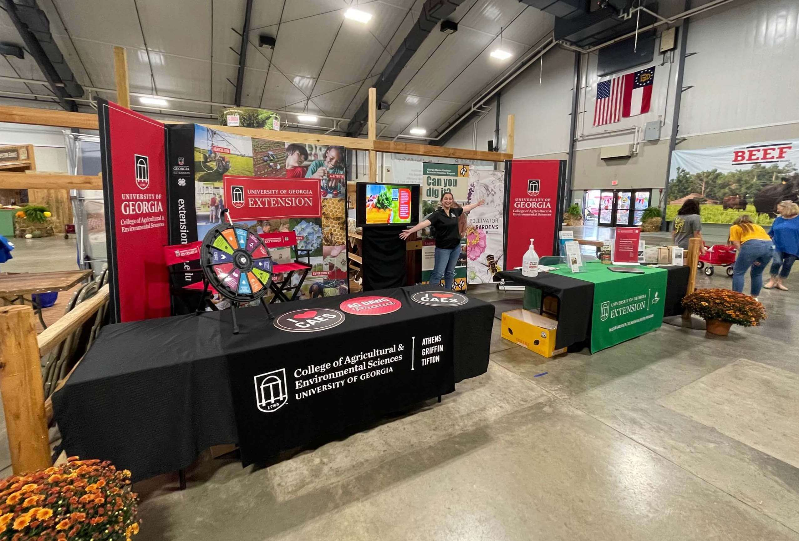CAES representatives will be on site at the Georgia National Fair and Sunbelt Ag Expo to provide information about the college's research, extension and instruction efforts.
