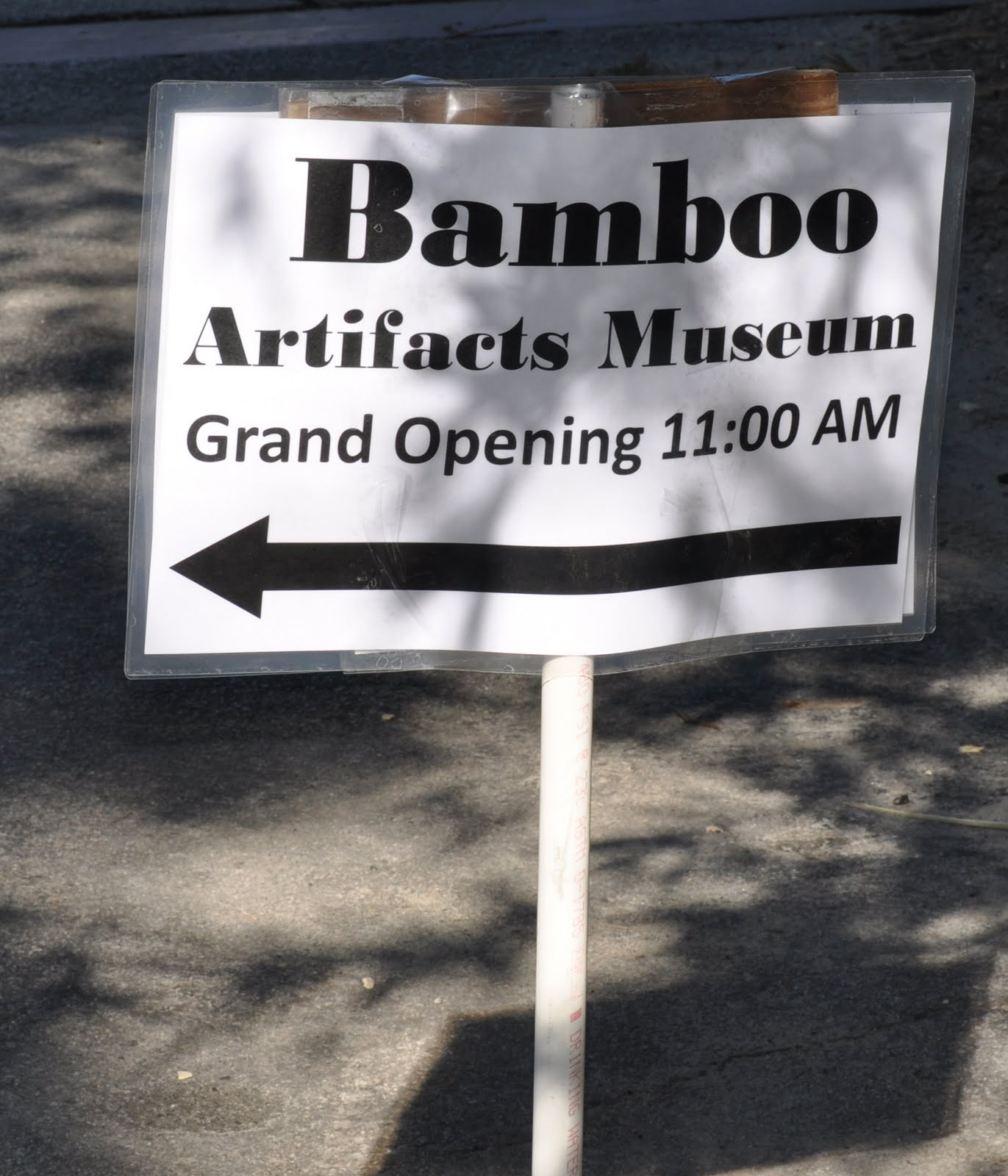 On Saturday, October 22,Dean Scott Angle of the University of Georgia College of Agricultural and Environmental Sciences dedicated the newly created Bamboo Artifact Museum at the Coastal Georgia Botanical Gardens at the Historical Bamboo Farm.