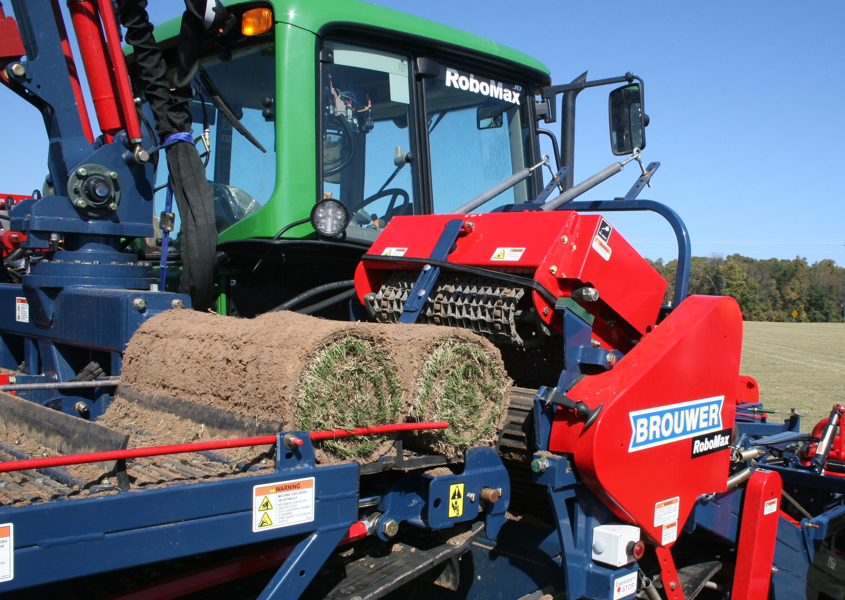 Sod harvesting equipment