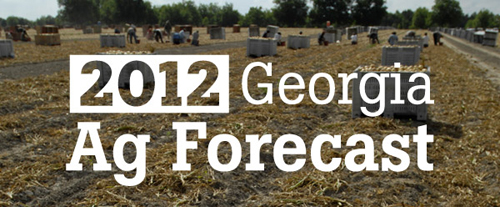 The 2012 Ag Forecast series will be held 10 a.m. to noon Jan. 23 in Macon, Jan. 24 in Tifton, Jan. 25 in Statesboro, Jan. 26 in Gainesville and Jan. 27 in Carrollton.