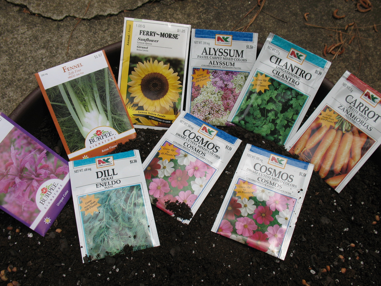 Planting from seeds opens up a large array of choices to home gardeners.