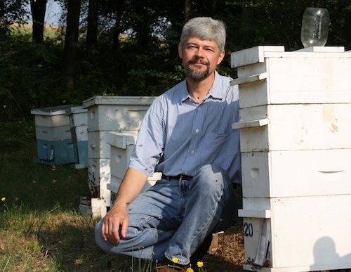 University of Georgia entomologist and honeybee expert Keith Delaplane