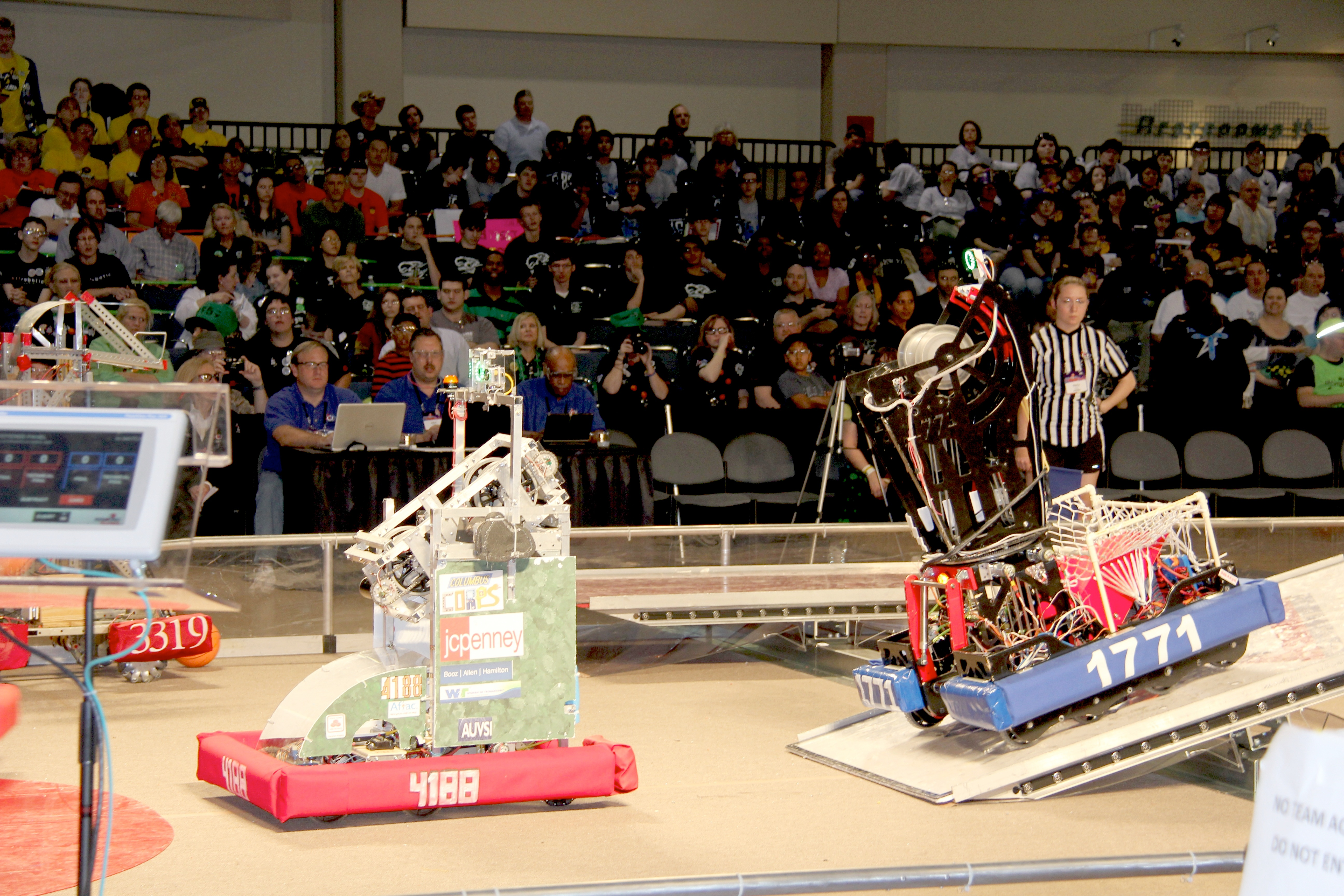 Seven teams of Georgia 4-H'ers were among the 60 teams of high school students whose robots competed in the FIRST Robotics Competition's Peachtree Regional held March 16 -17 at the Gwinnett Center in Duluth.
