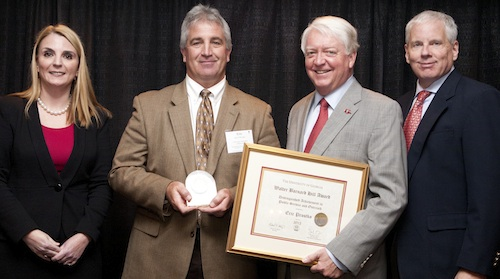 Eric Protsko wins Hill Award