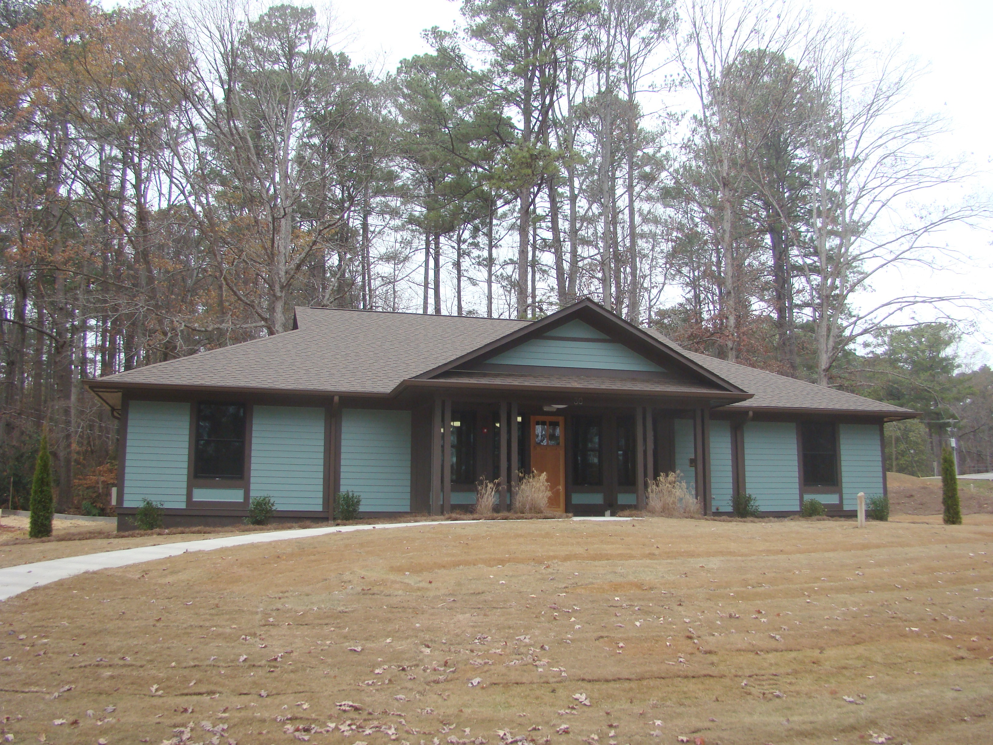 Georgia's 2013 state budget includes funds for seven new cabins at Rock Eagle 4-H Center in Eatonton, Ga.