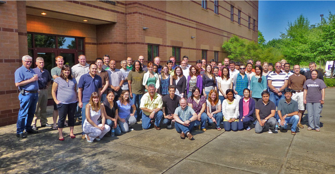 Fifty-five animal and dairy science graduate students and animal-breeding professionals gathered in at UGA's Athens campus for three weeks in May to study with UGA Animal and Dairy Science professor Ignacy MIsztal.