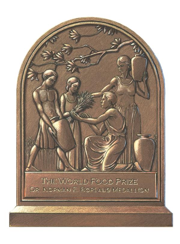The World Food Prize Foundation's Borlaug Medallion