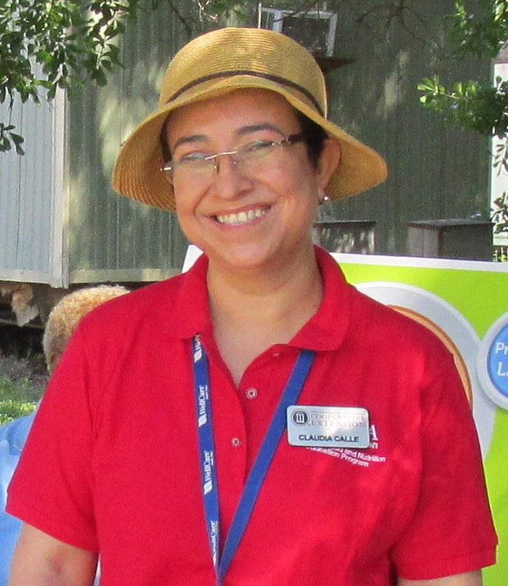 Portrait of Claudia Patricia Calle