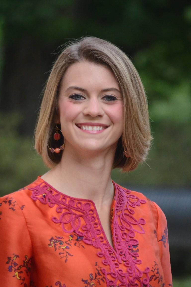 Portrait of Caitlin Dye