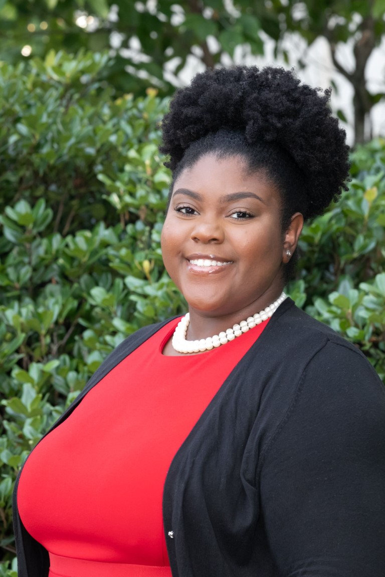 Portrait of Jamille B. Hawkins