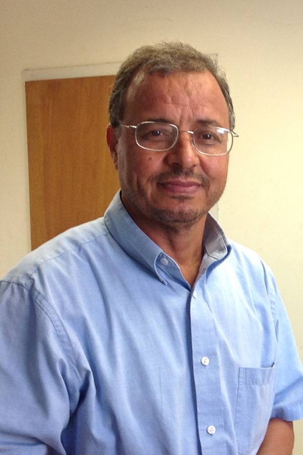 Portrait of Mohamed Mergoum
