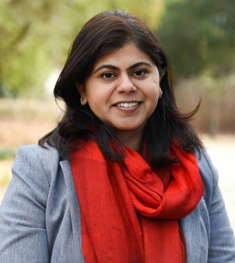 Portrait of Nandita Gaur