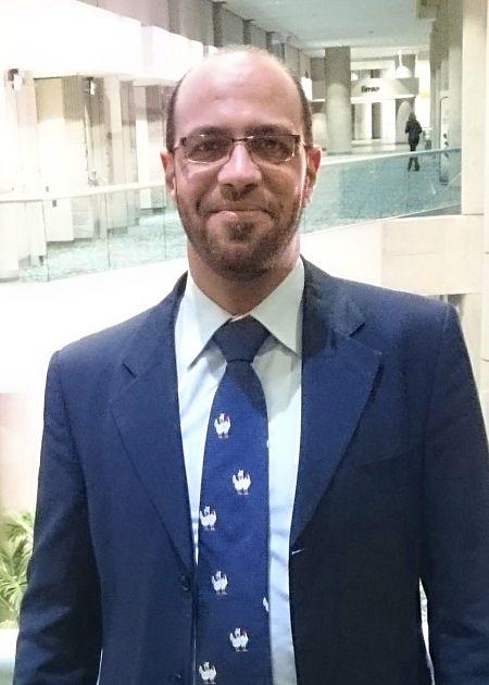 Portrait of Ahmed F Ghareeb