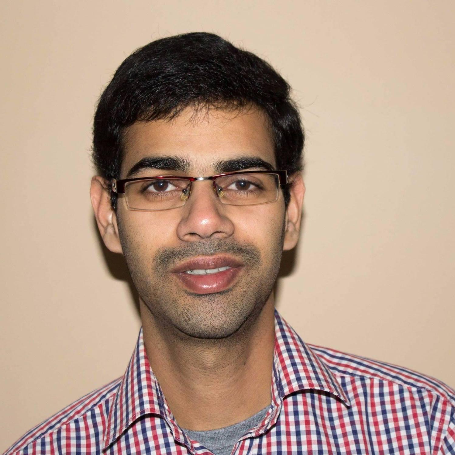 Portrait of Arun Babu